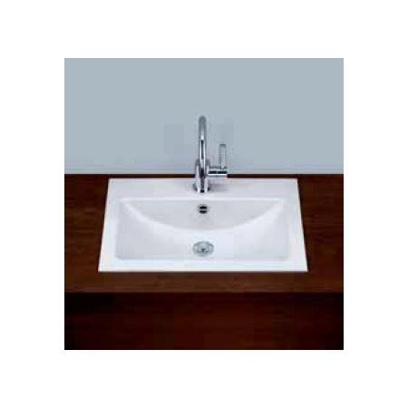Alape umywalka emaliowana EB.R585H biała wymiary 135 x 585 x 405 nr kat. 2202106000
