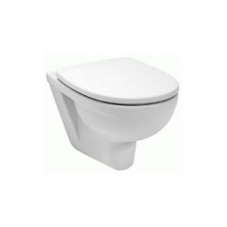 Koło Primo Zestaw Toaleta WC podwieszana 53x35,6 cm lejowa z deską sedesową wolnoopadającą, biały K83100+K80112000