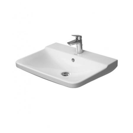 Duravit P3 Comforts Umywalka wisząca 60x47 cm 1-otworowa z przelewem, biała 2331600000