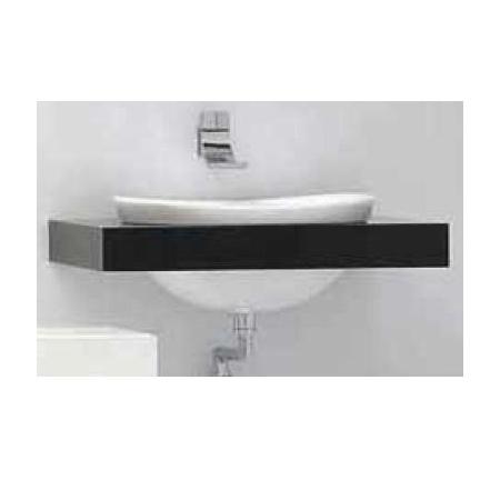 Flaminia IO Półka do umywalki 150-200x55x10cm, ciemny dąb IO75M3