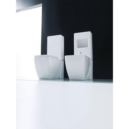 Kerasan Ego Spłuczka stojąca do bidetu stojącego 36x100x17 cm, biała 2482