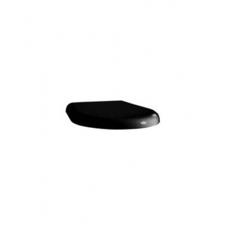 Kerasan K09 Deska zwykła, czarna błyszcząca 368904