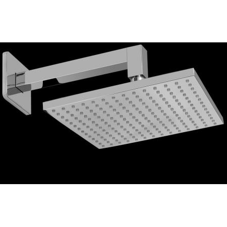 Graff Solar Głowica prysznicowa z ramieniem - komplet, chrom/czarny 2955020