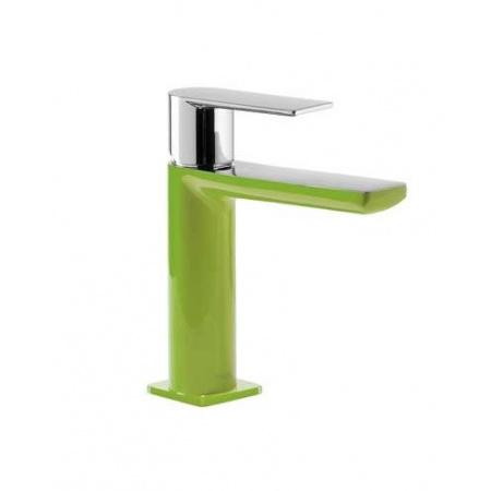 Tres Loft-Colors Jednouchwytowa bateria umywalkowa stojąca z dźwignią, zielona 200.103.01.VE.D