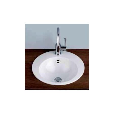 Alape EB.K450 Umywalka wpuszczana w blat 45 cm emaliowana biała 2002100000