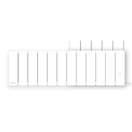 Airelec Fontea Grzejnik elektryczny radiatorowy 99x30 cm biały A693083