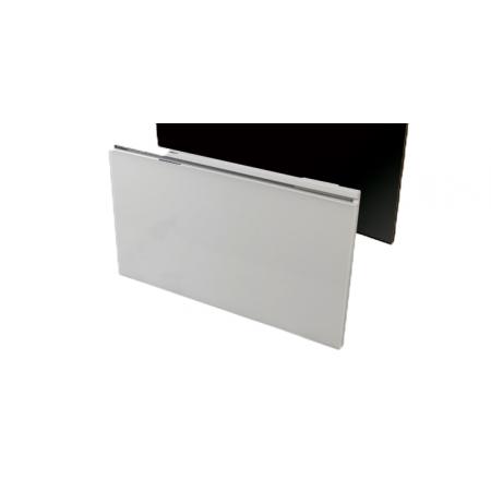 Airelec Glassance Grzejnik elektryczny radiatorowy 100x48 cm biały A694247