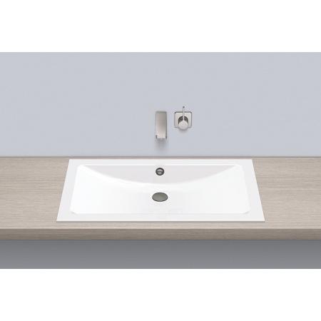 Alape EB.R800 Umywalka wpuszczana w blat 80x45x11,1 cm, biała 2203200000