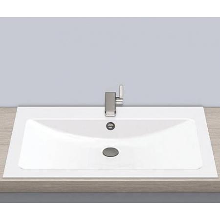 Alape EB.R800H Umywalka wpuszczana w blat 80x50x11,1 cm, biała 2204200000