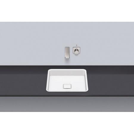 Alape FB.Q450 Umywalka wpuszczana w blat 39x39x9,4 cm, biała 2450501000