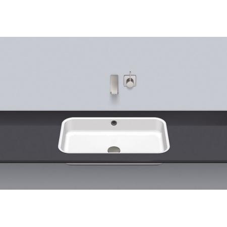 Alape FB.SR650.2 Umywalka wpuszczana w blat 62,4x37,4x12,7 cm, biała 2445702000