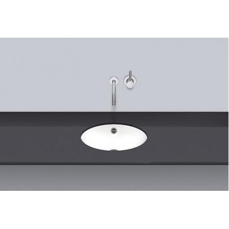 Alape UB.0425 Umywalka podblatowa 42,5x32,5x10,6 cm, biała 2110700000