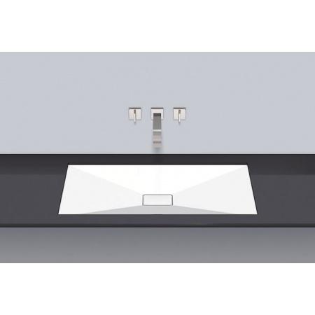 Alape UB.KF800 Umywalka podblatowa 82x42x5 cm, biała 2232500000