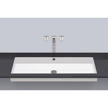 Alape UB.ME1000 Umywalka podblatowa 104,4x41,9x11,1 cm, biała 3228701000