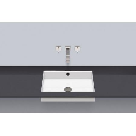 Alape UB.ME500 Umywalka podblatowa 54,4x41,9x11,1 cm, biała 3226701000