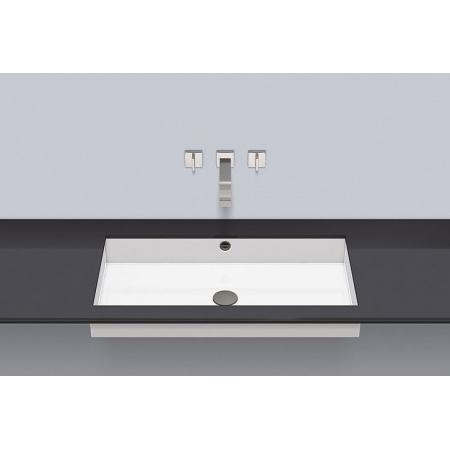 Alape UB.ME750 Umywalka podblatowa 79,4x41,9x11,1 cm, biała 3227701000