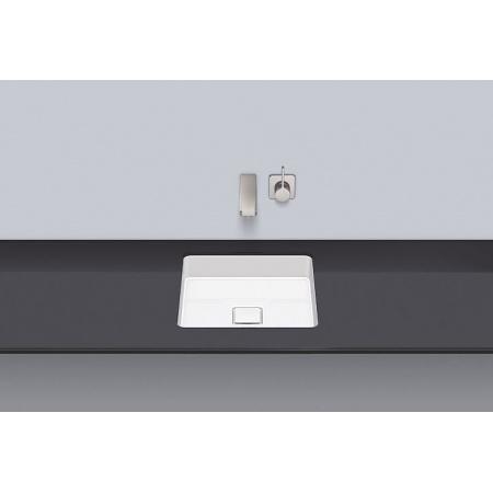 Alape UB.Q450 Umywalka podblatowa 39x39x9,4 cm, biała 2312500000