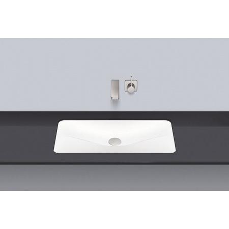 Alape UB.TA700 Umywalka podblatowa 69,4x38,1x7,7 cm, biała 2217500000