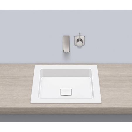Alape EB.Q450 Umywalka wpuszczana w blat 45x45x7,9 cm, biała 2302000000