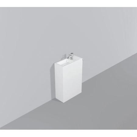 Alape WP.INS5 Zestaw Umywalka z szafką i wieszakiem po prawej stronie, biała 5229000000