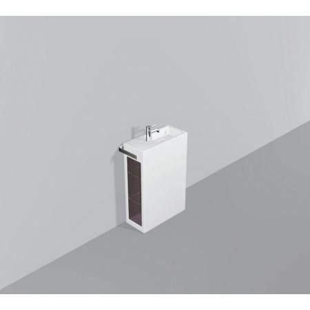 Alape WP.INS6 Zestaw Umywalka z szafką i wieszakiem po lewej stronie, biała 5230000000
