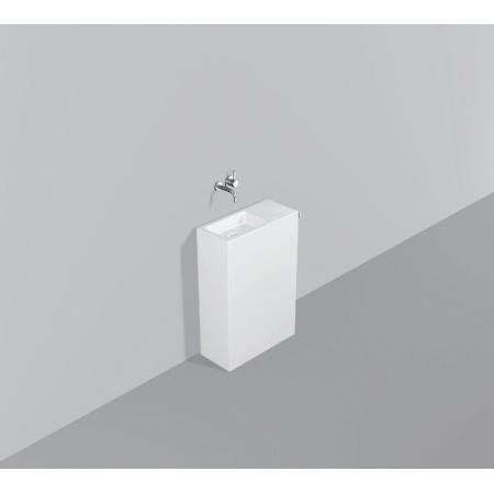Alape WP.INS7 Zestaw Umywalka z szafką i wieszakiem po prawej stronie, biała 5231000000
