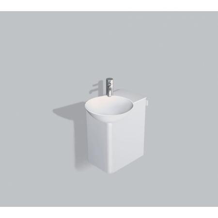 Alape WP.Insert1 Zestaw Umywalka z szafką i wieszakiem po prawej stronie, biała 5241000000
