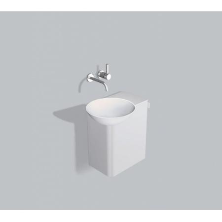 Alape WP.Insert3 Zestaw Umywalka z szafką i wieszakiem po prawej stronie, biała 5243000000