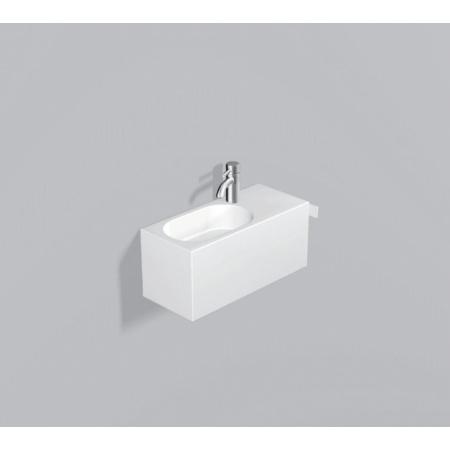 Alape WP.XXS1 Zestaw Umywalka z szafką i wieszakiem po prawej stronie, biała 5062800000