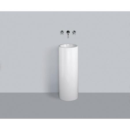 Alape WT.RX325K Umywalka wolnostojąca 32,5x32,5x90 cm, biała 4501000000