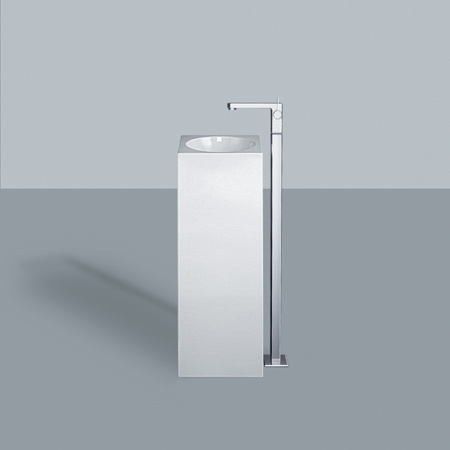 Alape WT.RX325Q Umywalka wolnostojąca 32,5x32,5x90 cm, biała 4803000000