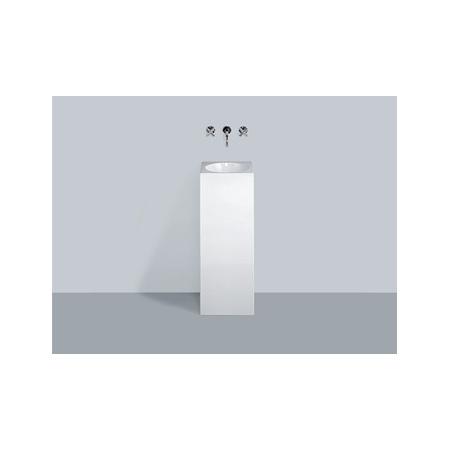 Alape WT.RX325Q Umywalka wolnostojąca 32,5x32,5x90 cm, biała 4800000000