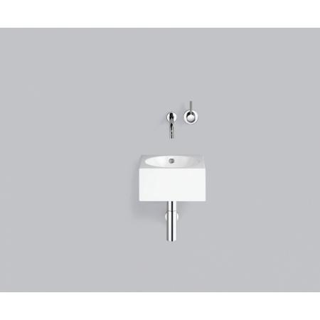 Alape WT.IC325 Umywalka wisząca 32,5x32,5x16 cm bez otworu na baterię, biała 4235200000