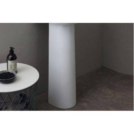 Alice Ceramica Short Postument 21,5x19x68,5 cm, biały 30210101
