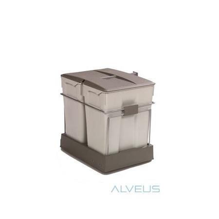 Alveus Albio 40 Sortownik na śmieci, szary 1090338