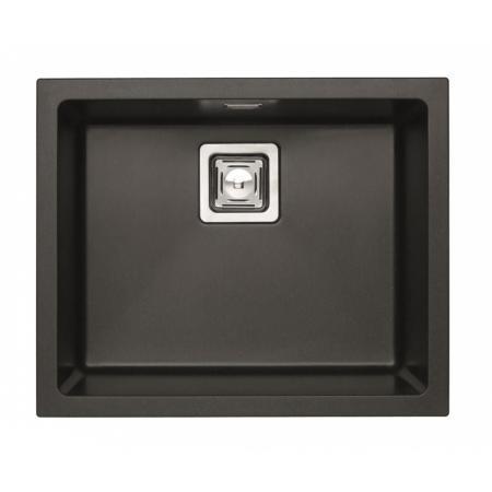 Alveus Granital Plus Quadrix 50 Zlewozmywak granitowy 56x46 cm 1-komorowy bez ociekacza, twilight 4605005