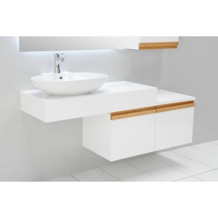 Antado Combi Blat pod umywalkę 100x45x15 cm bez otworu, biały ALT-B-1000X450X150-WS/666580