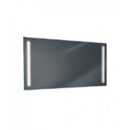 Antado Lustro prostokątne 120x60 cm z oświetleniem LED, pasek świetlny/światło odbite ciepłe L1-G1-LED3/671478