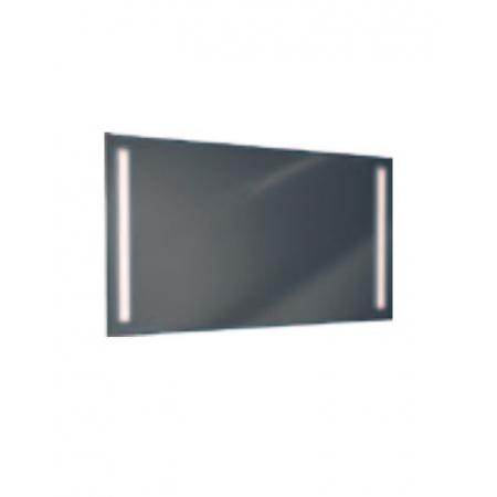 Antado Lustro prostokątne 100x60 cm z oświetleniem LED, pasek świetlny/światło odbite zimne L1-C1-LED2/664067