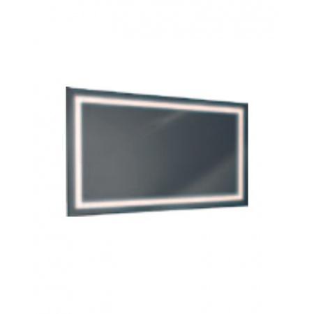 Antado Lustro prostokątne 100x60 cm z oświetleniem LED, ramka świetlna/światło odbite ciepłe L1-C4-LED3/671409