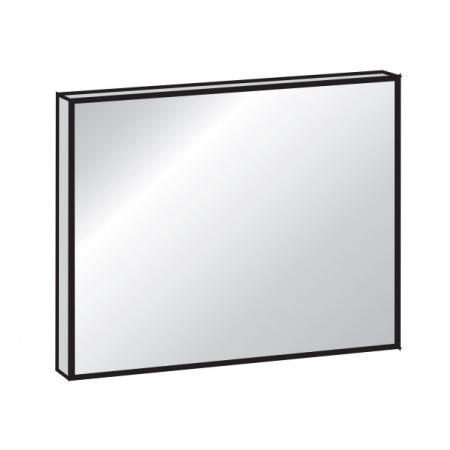 Antado Lustro prostokątne 100x80 cm w ramie aluminiowej, AL-100x80/611528