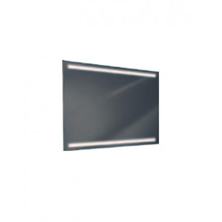 Antado Lustro prostokątne 100x80 cm z oświetleniem LED, pasek świetlny/światło odbite ciepłe L1-E2-LED3/669673