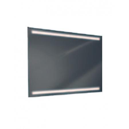 Antado Lustro prostokątne 120x80 cm z oświetleniem LED, pasek świetlny/światło odbite ciepłe L1-J2-LED3/671492