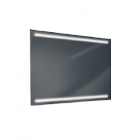 Antado Lustro prostokątne 120x80 cm z oświetleniem LED, pasek świetlny/światło odbite zimne L1-J2-LED2/671485