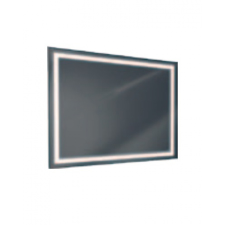 Antado Lustro prostokątne 120x80 cm z oświetleniem LED, ramka świetlna/światło odbite ciepłe L1-J4-LED3/671522
