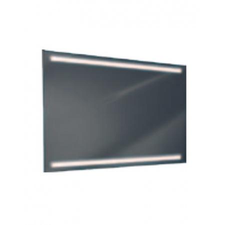 Antado Lustro prostokątne 140x70 cm z oświetleniem LED, pasek świetlny/światło odbite ciepłe L1-L2-LED3/671546
