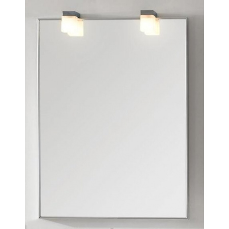Antado Lustro prostokątne 60x80 cm w ramie aluminiowej, AL-60x80/611825