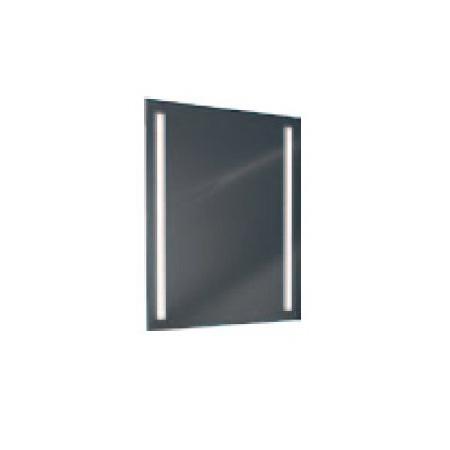 Antado Lustro prostokątne 60x80 cm z oświetleniem LED, pasek świetlny/światło odbite zimne L1-B2-LED2/667365