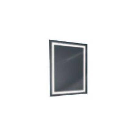 Antado Lustro prostokątne 60x80 cm z oświetleniem LED, ramka świetlna/światło odbite ciepłe L1-B4-LED3/671355