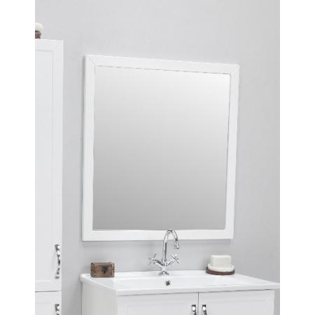 Antado Rustic Lustro w ramie 60x75 cm, białe RST-L75x60-14 / 667631